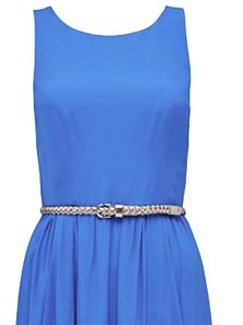 CARMEL HIGH LOW BELTED DRESS 1