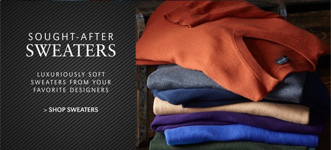 SOUGHT-AFTER SWEATERS | LUXURIOUSLY SOFT SWEATERS FROM YOUR FAVORITE DESIGNERS | SHOP SWEATERS