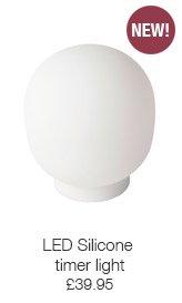 LED Silicone timer light