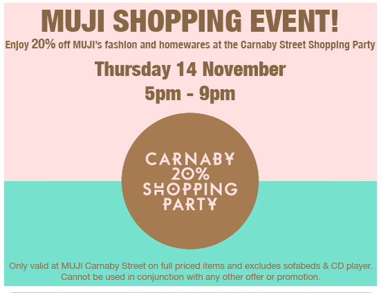 Carnaby Street Shopping Party