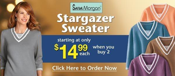 Stargazer Sweater $14.99 each when you buy 2