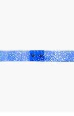 ROKSANDA ILINCIC Blue PVC Semi-sheer Foiled Belt for women