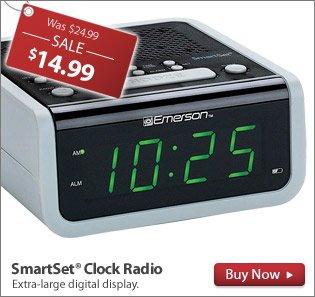 SmartSet® Clock Radio