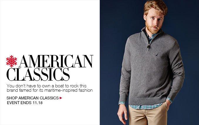Shop American Classic Menswear