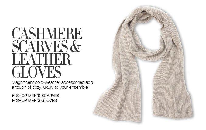 Shop Men's Scarves and Gloves