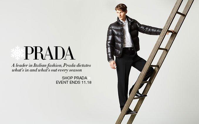 Shop Prada for Men