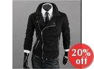 Asymmetric Zipup Jacket