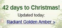 Radiant Golden Amber