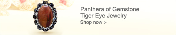 Panthera of Gemstone Tiger Eye Jewelry