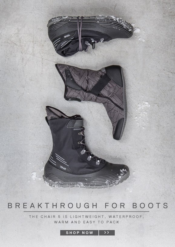 BREAKTHROUGH FOR BOOTS - SHOP NOW