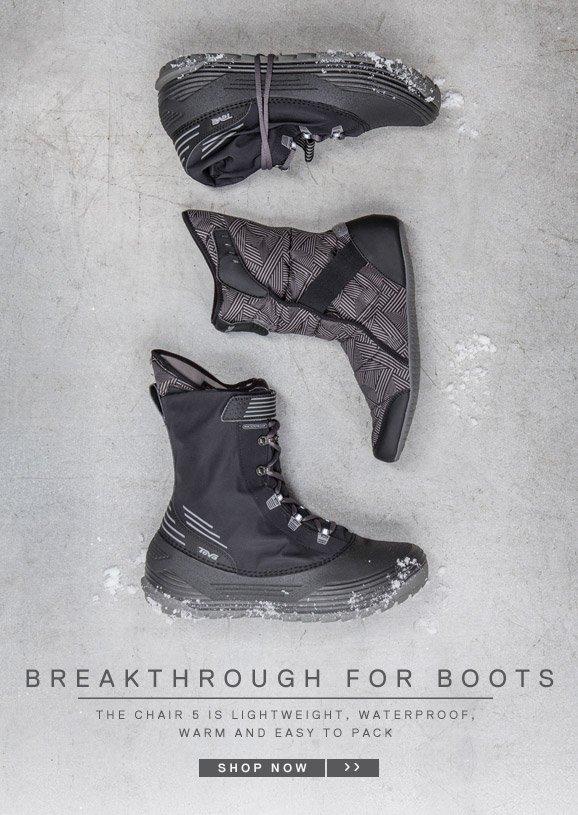 BREAKTHROUGH FOR BOOTS - SHOP NOW