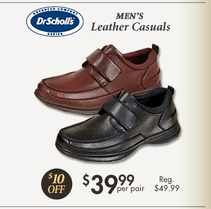 Leather Casuals $39.99 per pair