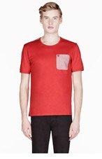 ALEXANDER MCQUEEN Croal contrast-pocket t-shirt for men
