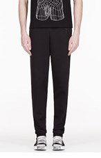 CHRISTOPHER KANE BLACK classic SWEAT PANTS for men