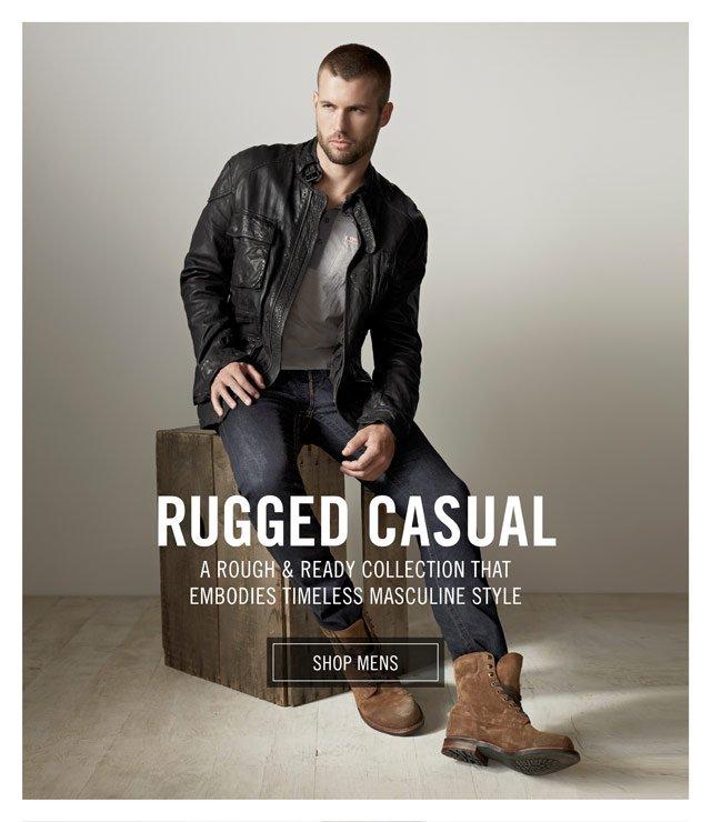 Rugged Casual - Shop Mens