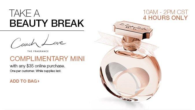 FREE Coach Love Mini with any $35 ULTA.com purchase