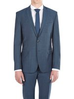 Signature Two Button Wool Mohair Suit Jacket