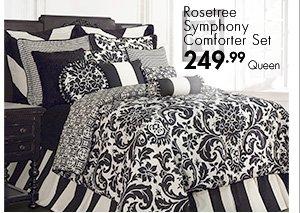 Rosetree Symphony Comforter Set 249.99 Queen