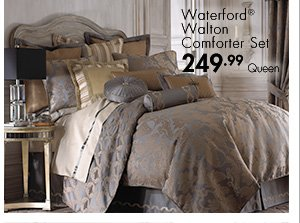 Waterford(R) Walton Comforter Set 249.99 Queen