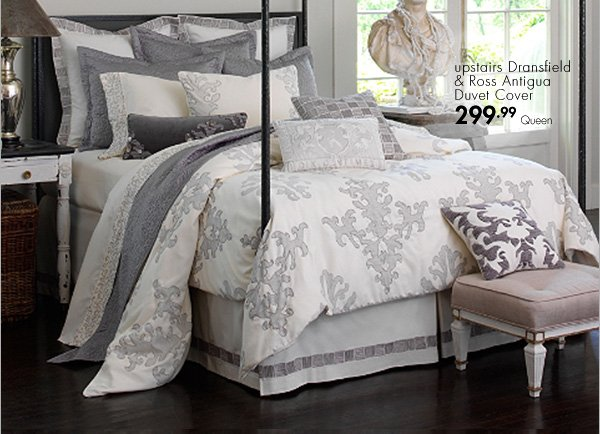 upstairs Dransfield & Ross Antigua Duvet Cover 299.99 Queen