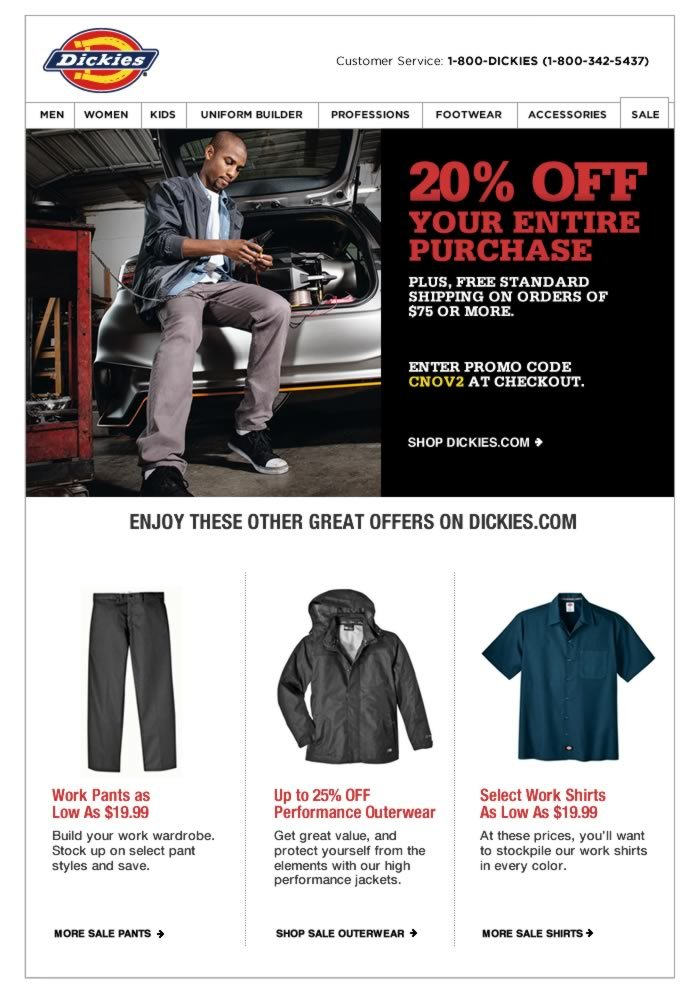 This 20% discount won't last long, but our workwear will.