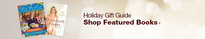 Holiday Gift Guide - Shop Featured Books