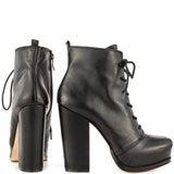 Ithaka - Blk Silky Leather