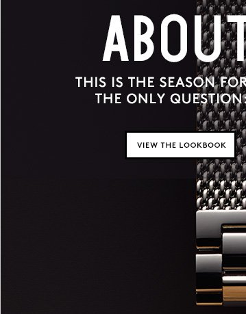 Shinola watches: The perfect holiday gift for him or for her.