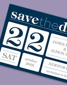 Delightful Date Save-the-Date Magnet