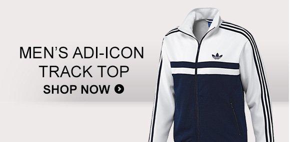 Shop Men's adi–Icon  Track Top »