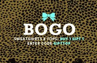 Buy One, Gift One: Sweatshirts & Tops