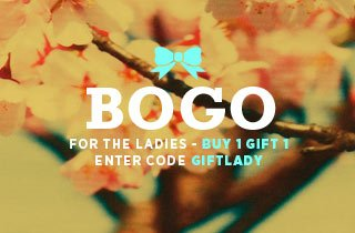 Buy One, Gift One: Ladies