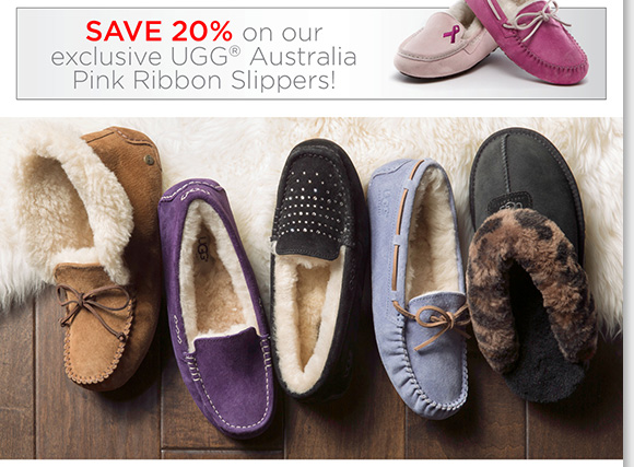 Cozy up with the best NEW slipper arrivals from UGG® Australia for women and men. We have the season's ultimate styles, plus save 20% on Pink Ribbon exclusives. Shop now to find the best selection online and in-stores at The Walking Company.
