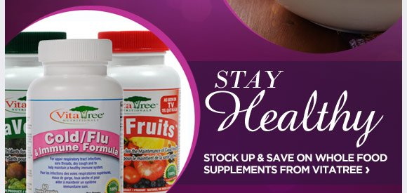 WHOLE FOOD SUPPLEMENTS FROM VITATREE