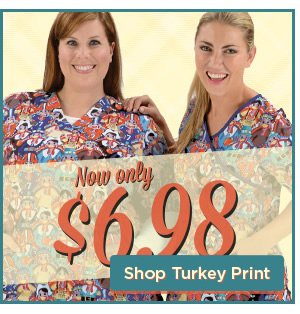 Now Only $6.98 - Shop Turkey Print