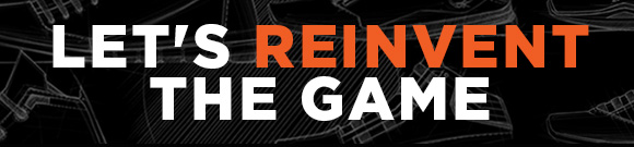 LET'S REINVENT THE GAME