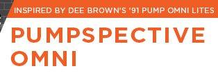 INSPIRED BY DEE BROWN'S 91 PUMP OMNI LITES