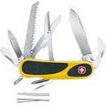 Wenger 16807 EvoGrip 18 Yellow Swiss Army Knife