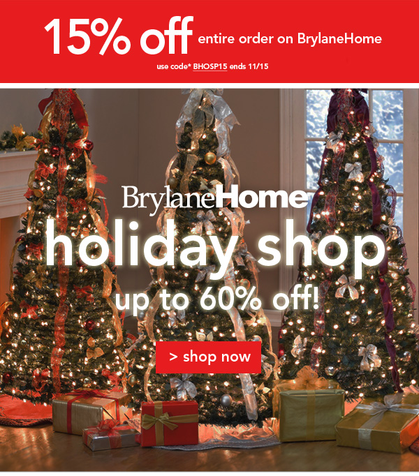 Shop Brylane Holiday shop
