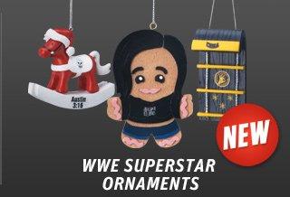 WWE Superstar Ornaments