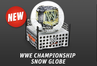 WWE Championship Snow Globe