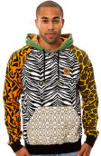 The LRG Savage Safari Pullover Hoody in Multi
