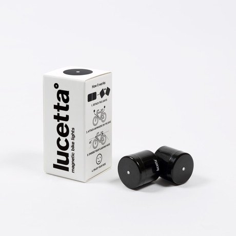 Lucetta Bike Light 2-Pack // Black