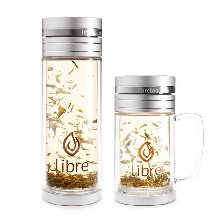 Libre Large Glass + Libre Mug