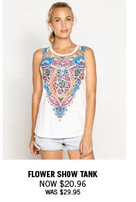 Flower Show Tank Now $20.96 Was $29.95