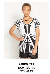 Ashima Top Now $27.96 Was $39.95