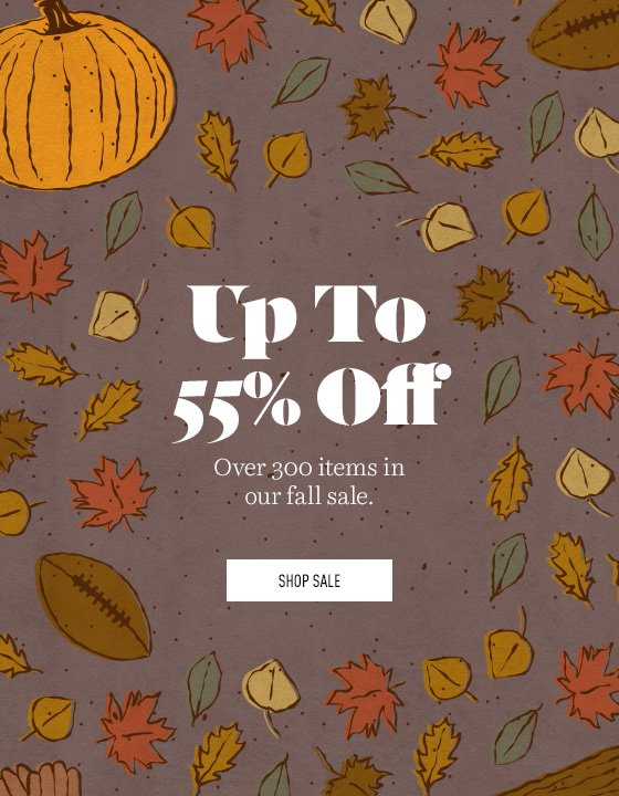 Items up to 55% off