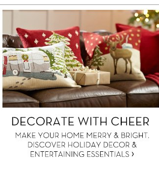 DECORATE WITH CHEER