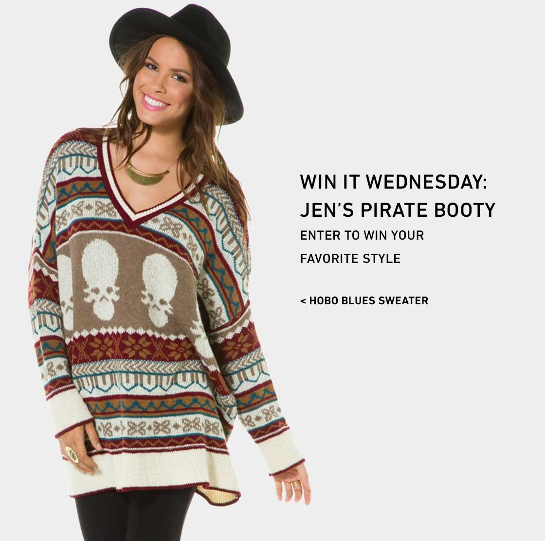 Enter to Win Your Favorite Piece from Jen's Pirate Booty