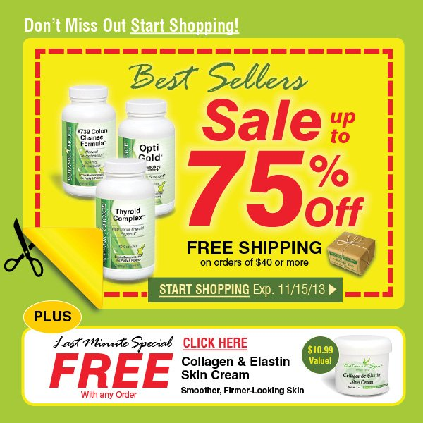 Best Sellers Sale - Save up to 75% off + get FREE Shipping on orders of $40 or more